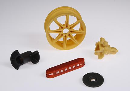3d-printade produkter från en 3d-skrivare
