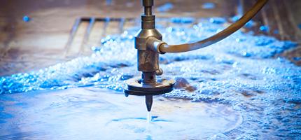 Vattenskärning i Gnosjöregionen