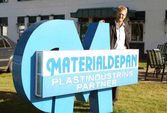 Materialdepån - komplett partner för plastindustrin